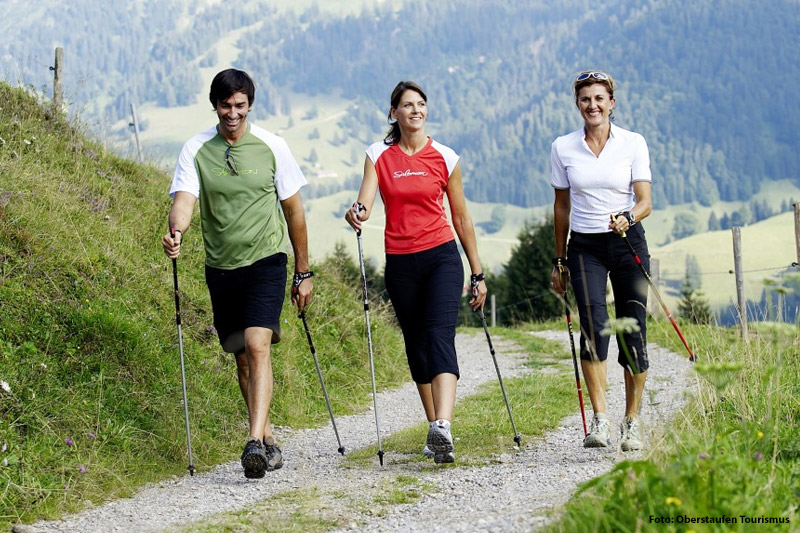 Nodic Walking im Allgäu