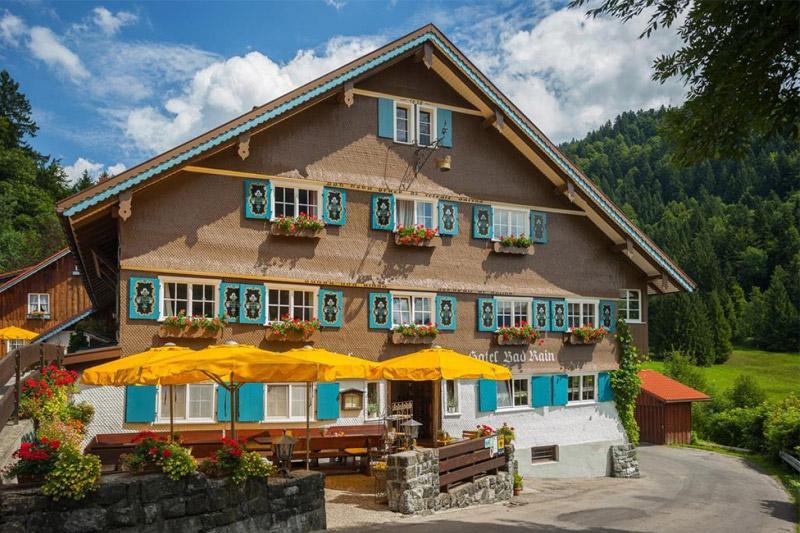 Sommerurlaub im Hotel Das Bad Rain in Oberstaufen