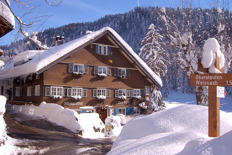 Winterurlaub im Hotel Das Bad Rain in Oberstaufen