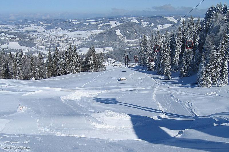 Skigebiet Oberstaufen-Steibis im Allgäu