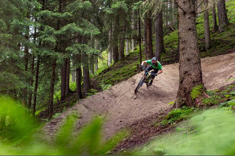 Mountainbiken im Stubaital