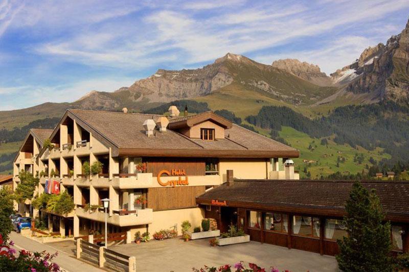 Sommerurlaub im Hotel Crystal Adelboden