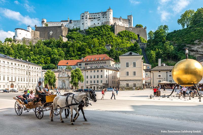 Ausflugsziel Festspielstadt Salzburg