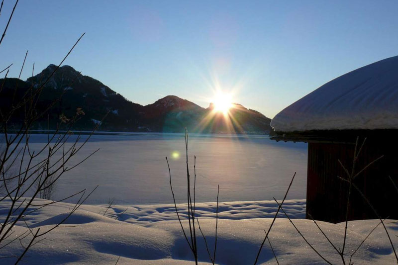 Fuschlsee im Winter