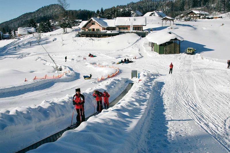 Skifahren in Fuschl am See