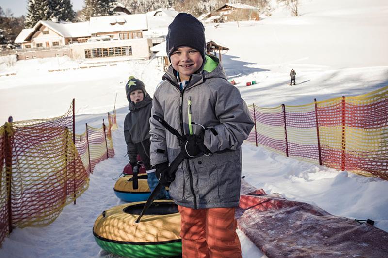 Familienurlaub im Winter bei uns im Salzkammergut