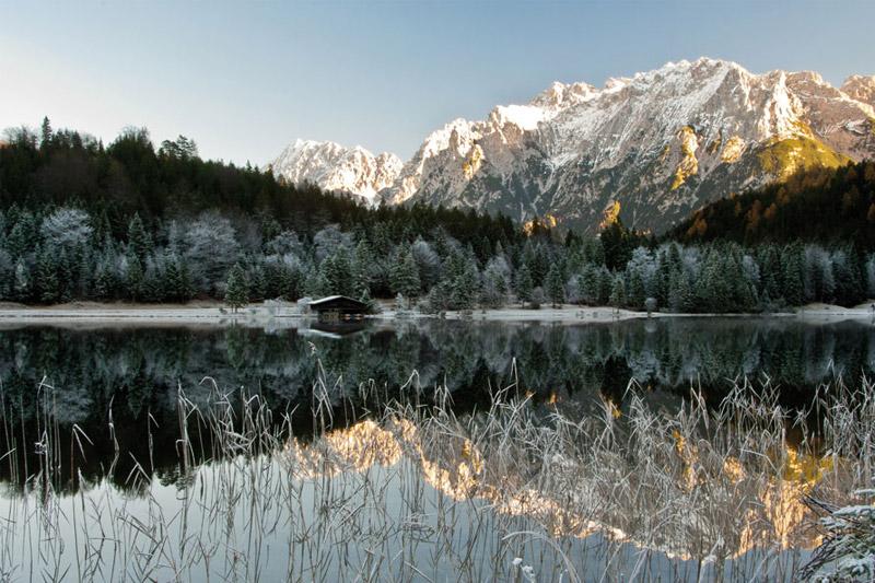Ferchensee im Winter
