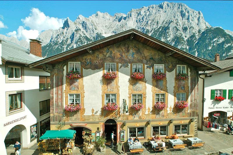 Hotel Alpenrose Mittenwald Sommerurlaub