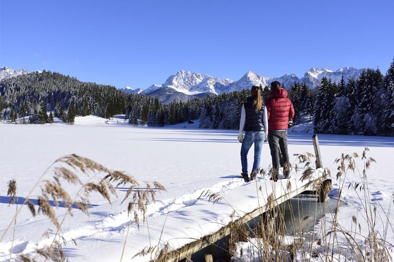 Winterwandern am See