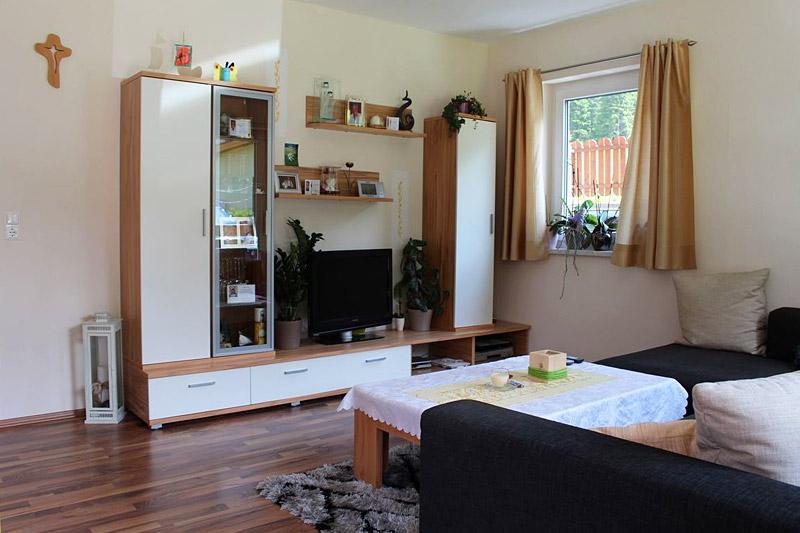 Wohnzimmer des Ferienhauses