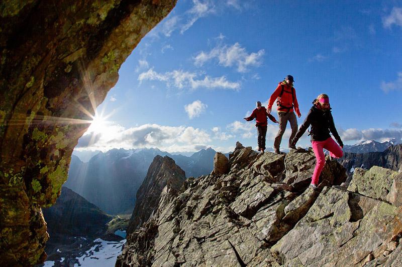Klettersteig im Pitztal