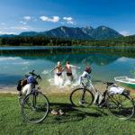 In den Alpen ist das Rad das ideale Verkehrsmittel