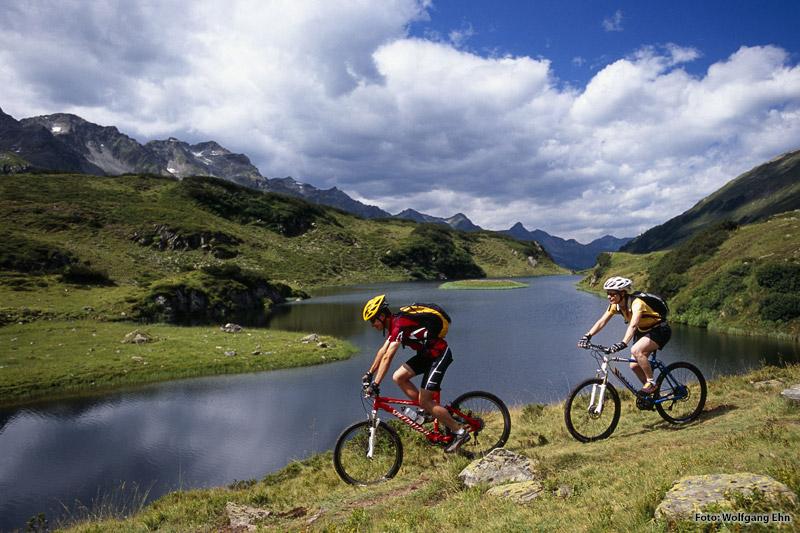 Mountainbiken in St. Anton am Arlberg