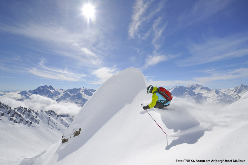 Skifahren in St. Anton am Arlberg