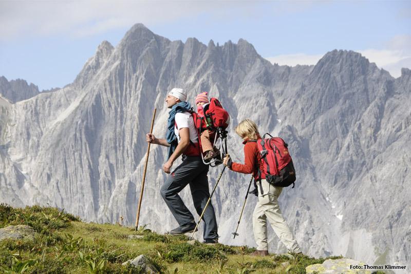 Wanderung zur Kaltenberghuette
