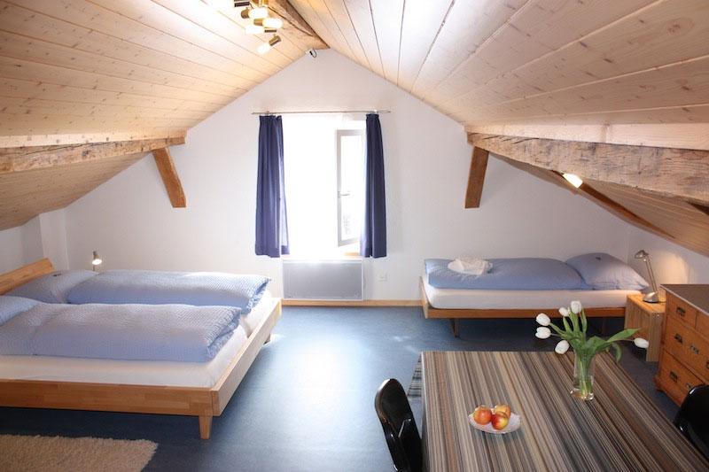 Doppelzimmer mit extra Bett