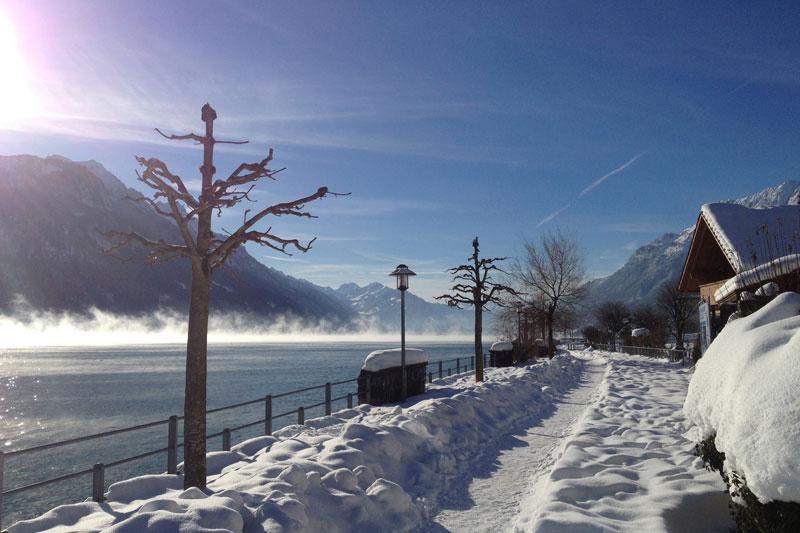 Winterurlaub am See