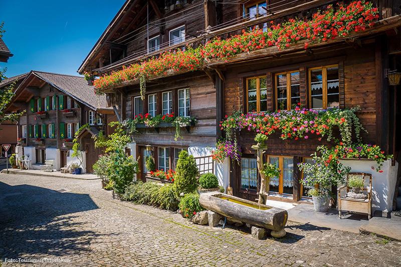 Charmantes Chalet im Dorf Brienz