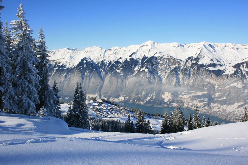 Brienz im Schnee