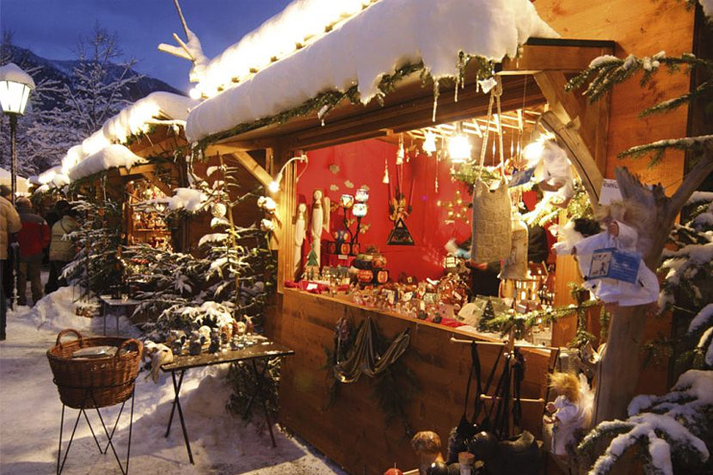 Christkindlmarkt in Garmisch-Partenkirchen