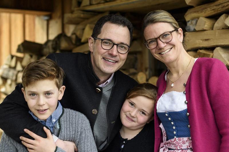 Gastgeberfamilie Staudacher