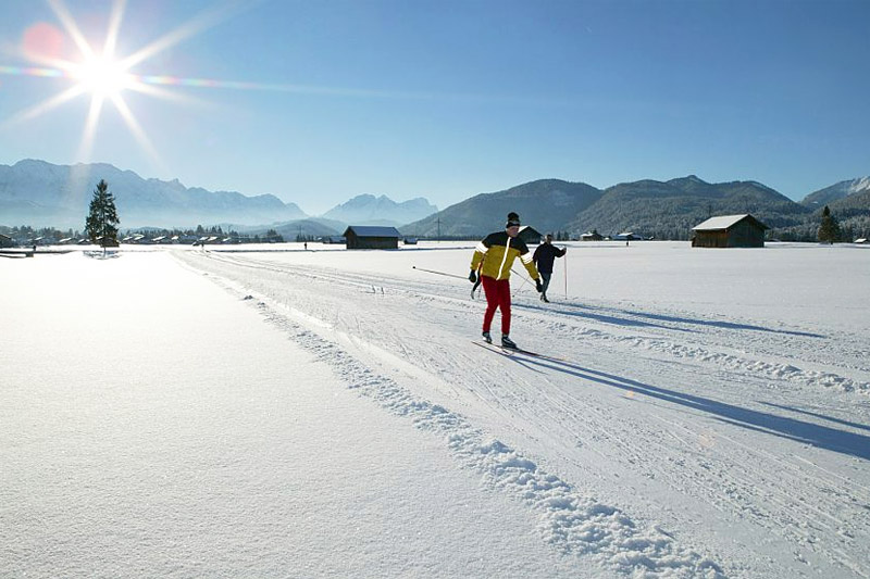 Langlauf in Garmisch-Partenkirchen