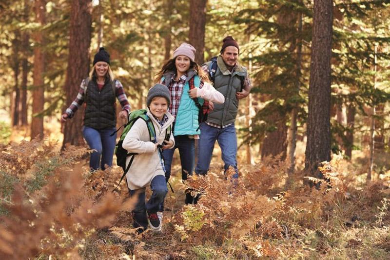 Wandern im Familienurlaub
