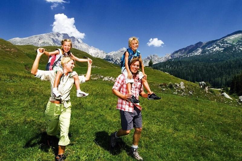 Familienurlaub im Wagrainer Hof