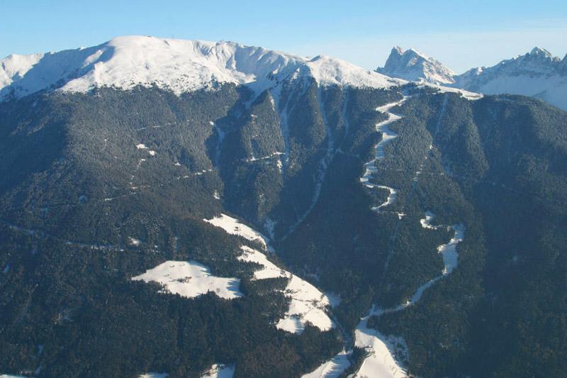 Die Trametsch - längste Abfahrt Südtirols