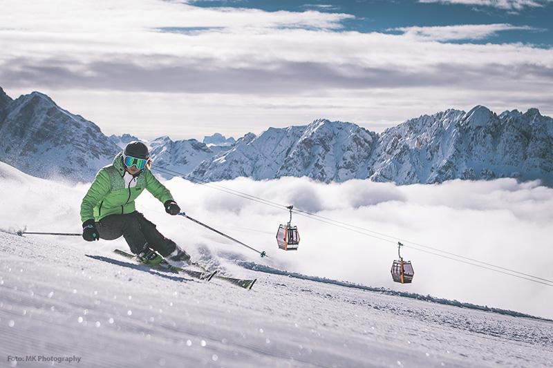 Skifahren im Skigebiet Brixen-Plose
