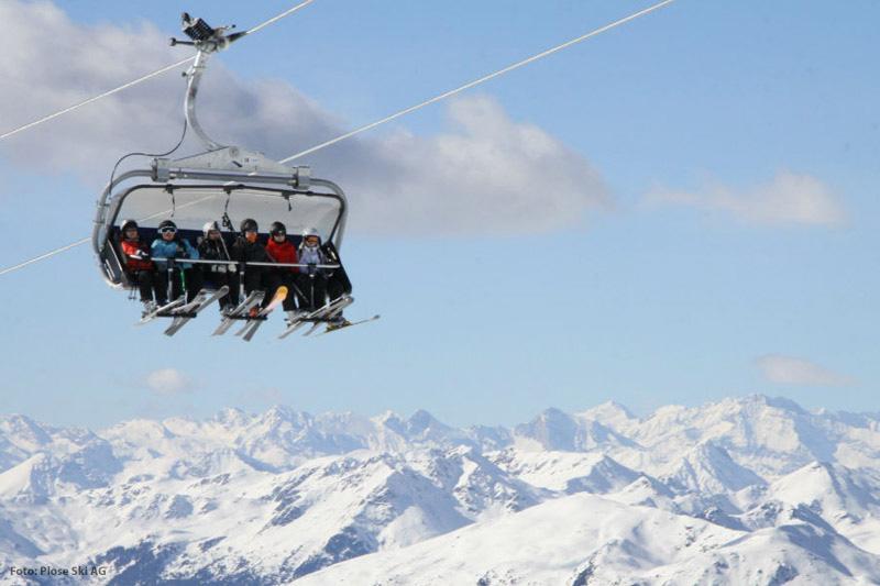 Skilift in Plose