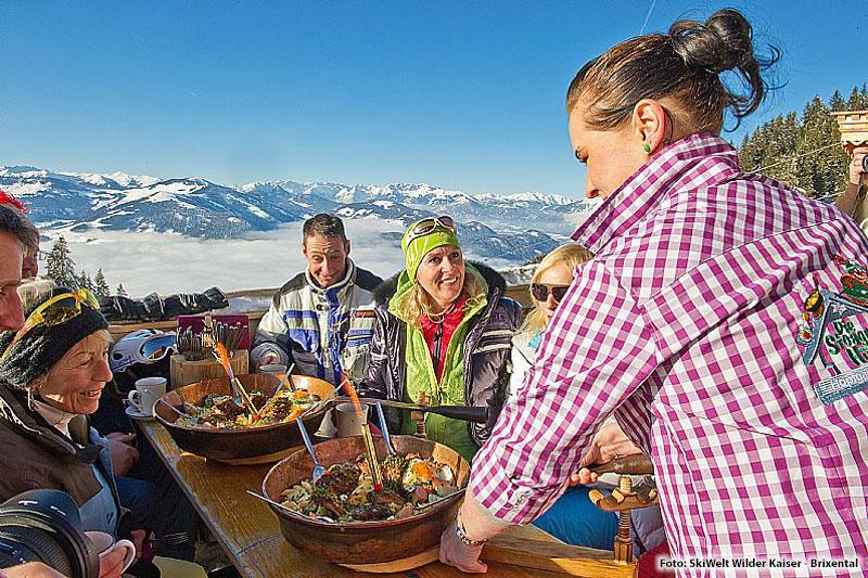 Skihuetten-Gaudi-Wochen in der SkiWelt Wilder Kaiser - Brixental