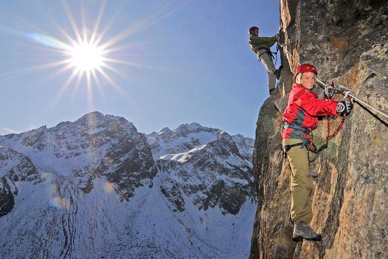 Alpine Abenteuer im Kletterpark Fernau