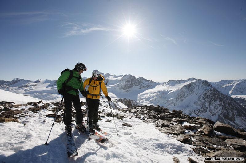 Skitouren mit herrlichem Panorama