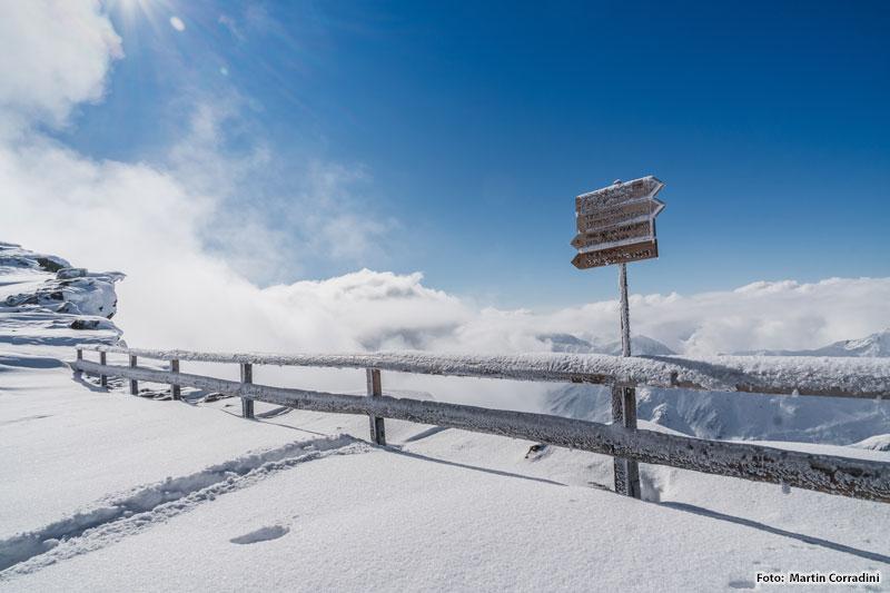 Großes Tourenangebot für Winterwanderungen