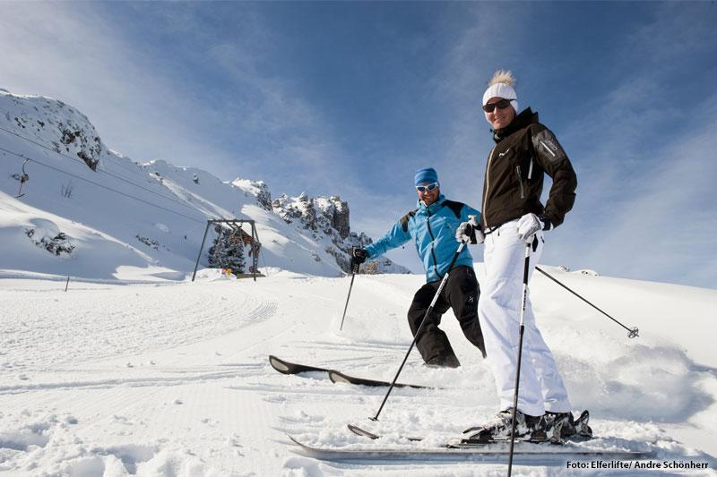 Skiurlaub im kleinen, aber feinen Skigebiet