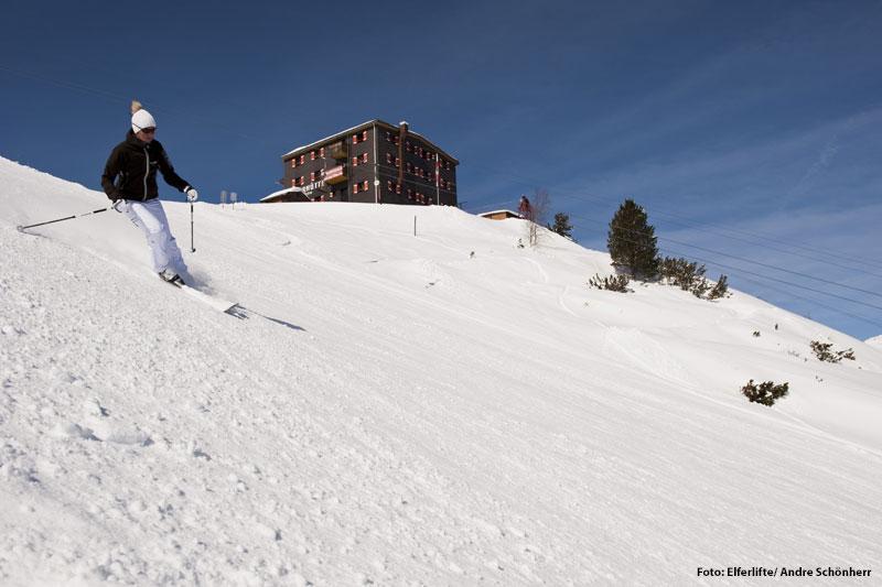 Skifahren am Elfer