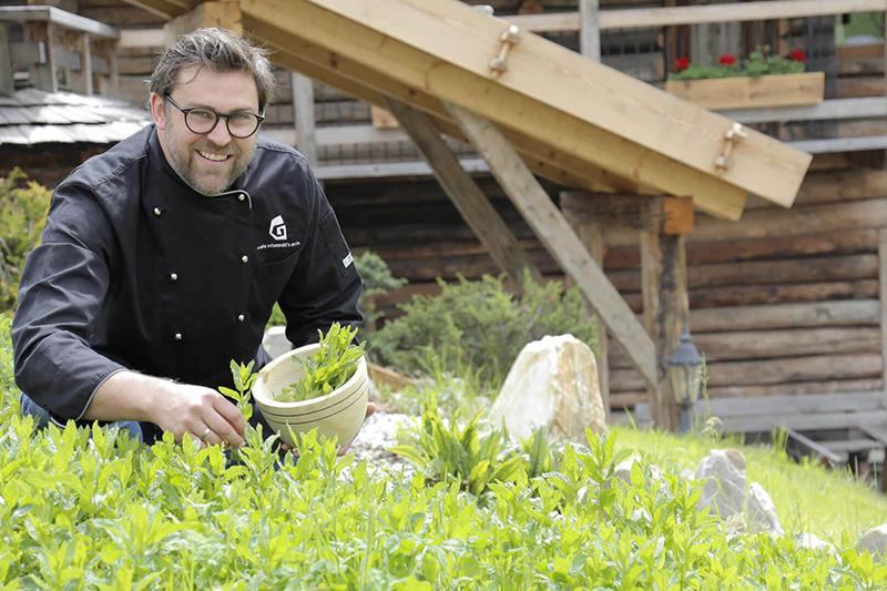 Spezialitäten aus Südtirol zubereitet vom Küchenchef Stefan