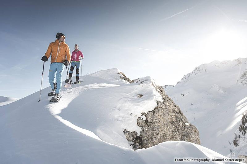 Schneeschuhwandern in Südtirol - Tipps für Deine Schneeschuhwanderung bekommst Du im Hotel