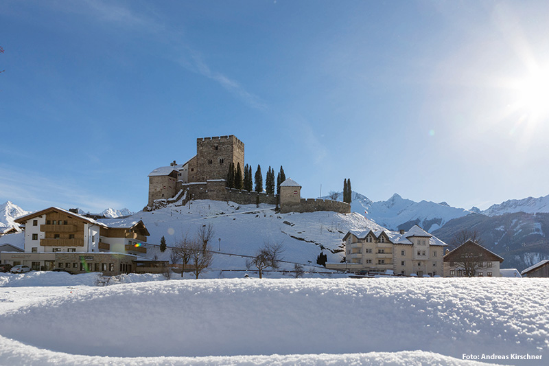 Burg Laudeck in Ladis