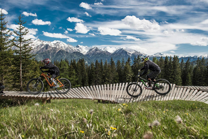 Mountainbikeurlaub in Tirol