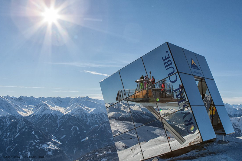 Crystal Cube - Highlight mit Panoramaaussicht