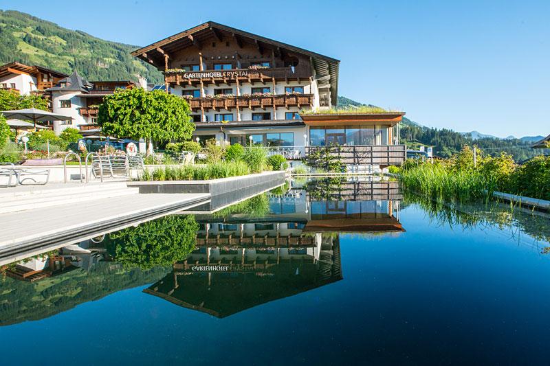 Sommerurlaub im Gartenhotel Crystal im Zillertal