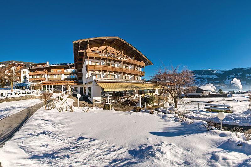 Winterurlaub im Gartenhotel Crystal im Zillertal