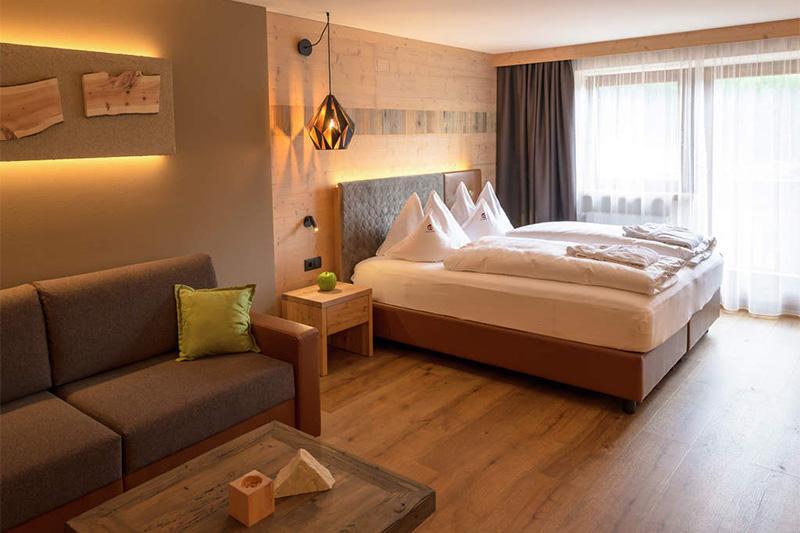 Superior-Doppelzimmer für 2 bis 4 Personen