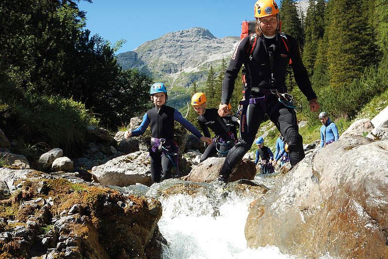 Abenteuerurlaub mit Canyoningtouren