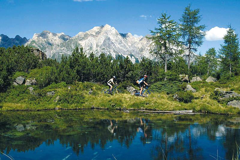 Radfahren im Sommerurlaub