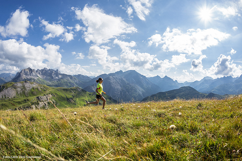 Trailrunning am Arlberg