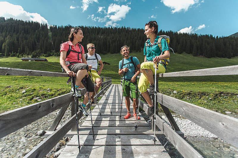 Wanderurlaub in Lech am Arlberg