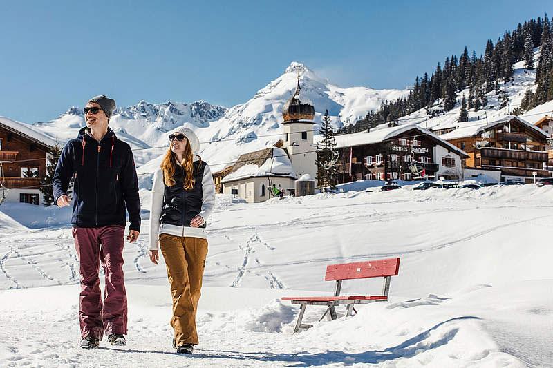 Winterwandern in Lech am Arlberg